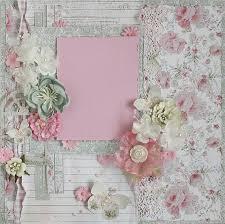 wedding scrapbook albums 12x12 premade 12x12 shabby chic scrapbook layout prima fabscraps
