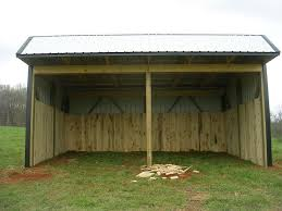 Loafing Shed Plans Horse Shelter by Patric Free 12x24 Loafing Shed Plans