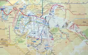 Aris Metro Map by Inter Action La Peniche Cinema Paris France