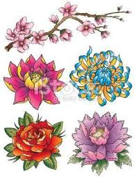 Japanese Flower Artwork - japanese flower tattoo google search u2026 pinteres u2026
