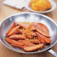 sweet potatoes with caramelized apples