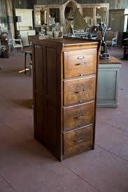 Vintage Oak Filing Cabinet Vintage Metal File Cabinet Wooden Filing Cabinets Vintage Wood