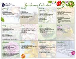 gardening guide calendar flower u0026 vegetable planting schedule