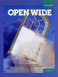 Windows Of Light Open Wide
