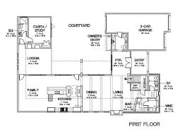 courtyard garage house plans baby nursery house plans with front courtyards floor plans ideas