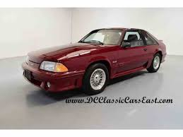 1990 mustang gt cobra 1989 ford mustang for sale on classiccars com 16 available