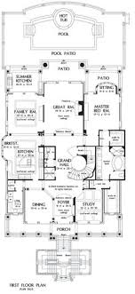 house plans with pools and outdoor kitchens house plan pool included from coolhouseplans home