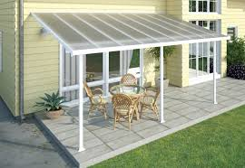 Home Awning Stylish Patio Awning Kits With Patio Covers The Garden And Patio