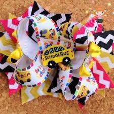 back to school hair bows dazzling creations more back to school online store powered