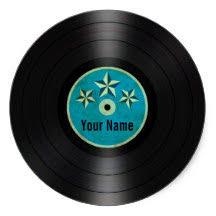 personalized record album vinyl record albums stickers zazzle