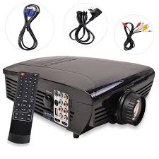 best hd home theater multimedia lcd led projector 720 hdmi tv dvd