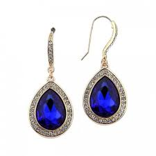 royal blue earrings royal blue teardrop earrings jpg