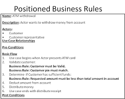 User Story Card Template Use Cases And Business Rules Can They Work Together Business