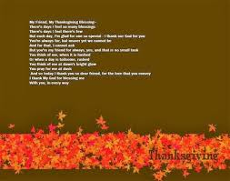best thanksgiving poems for friends free quotes poems