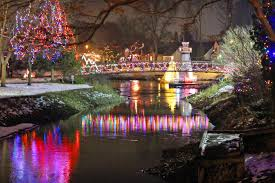 Riverside Christmas Lights This Unreal Riverside Lights Festival Is Two Hours From Toronto