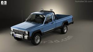 jeep pickup comanche 360 view of jeep comanche mj 1984 3d model hum3d store