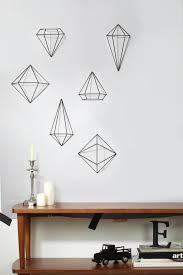 umbra geometric wall prisms from washington by grandiflora home