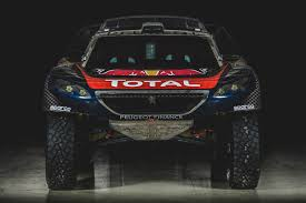 peugeot dakar peugeot reveals livery for its dakar racer