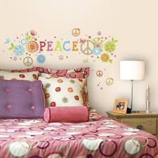 peace sign decorations for bedrooms peace sign decor for a funky girl s bedroom or space ginas room
