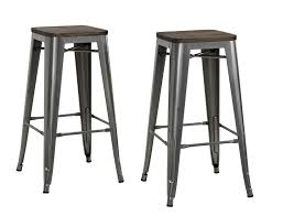 Furniture Wooden And Metal Counter by Furniture Ikea Step Stools Orange And White Bar Wooden Metal