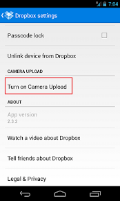 dropbox app for android android sync photos and automatically with your dropbox