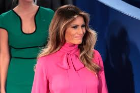 Blouse With Big Bow Melania Trump Wore A U201cpussy Bow U201d Blouse At Sunday U0027s Debate