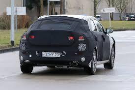 hyundai i30 fastback spied testing