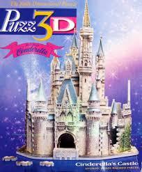 Cinderella Castle Floor Plan Amazon Com Disney Cinderella Cinderella U0027s Castle 3d Puzzle 530