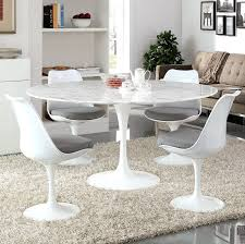 lippa 54 u2033or 60 u2033 round dining table regular or marble top u2013 modern wow