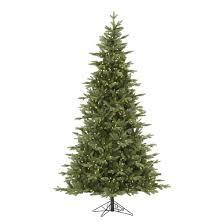 9ft pre lit led artificial tree balsam fir white