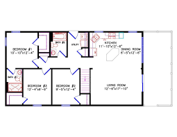 100 two bedroom cottage floor plans small two bedroom house