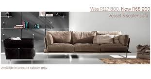 Gamma Leather Sofa by On Promotion Gamma Vessel Sofa Casarredo