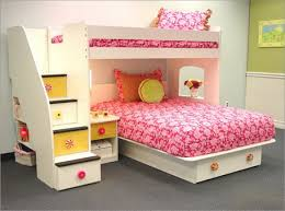 pink bunk beds with stairs cute bunk beds pink cute bunk