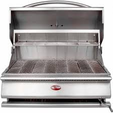 cal flame g series 31 in built in stainless steel charcoal grill