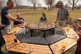 ultimate backyard bbq the ultimate backyard fire pit grill combo fire pit ideas