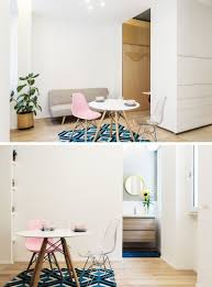 this micro apartment in milan has a movable multi functional wall
