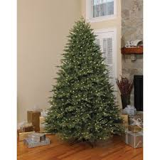 ge 7 5 ft pre lit frasier fir artificial tree with color