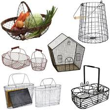Country Baskets Wire Basket Etc Bloomize