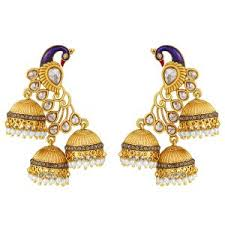 online earrings peacock earrings buy peacock earrings online best price in india