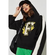 simple casual latest style puma x fenty hooded panel sweatshirt