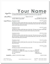 Resume Templates For Word 2007 by Awesome Resume Templates Word Templates Resume Exles Wla07vwyvk