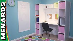 build a study space how to menards youtube