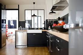 Deco Cuisine Gris Et Noir by Indogate Com Idee Deco Luminaire Pour Plan De Travail Cuisine