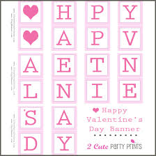 happy valentines day banner happy s day banner printable digi s free printables