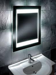 Backlit Mirror Bathroom by Mood Backlit Mirror With Ambi Light U0027 Get The Look Luxury
