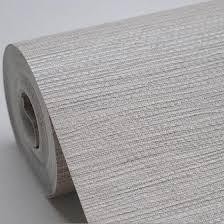 faux woven textured natural grasscloth wallpaper cream grey silver