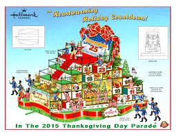 thanksgiving day parade macys hallmark channel u0027s macy u0027s thanksgiving day float youtube