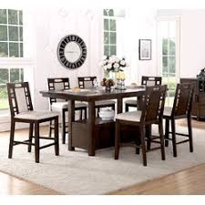 Winston Porter Nika  Piece Counter Height Dining Set  Reviews - High dining room sets