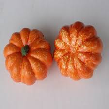 foam pumpkins 2 pcs mini artificial pumpkins foam pumpkins package of small