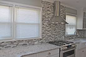 mosaic kitchen backsplash glass tile ideas for kitchens modern